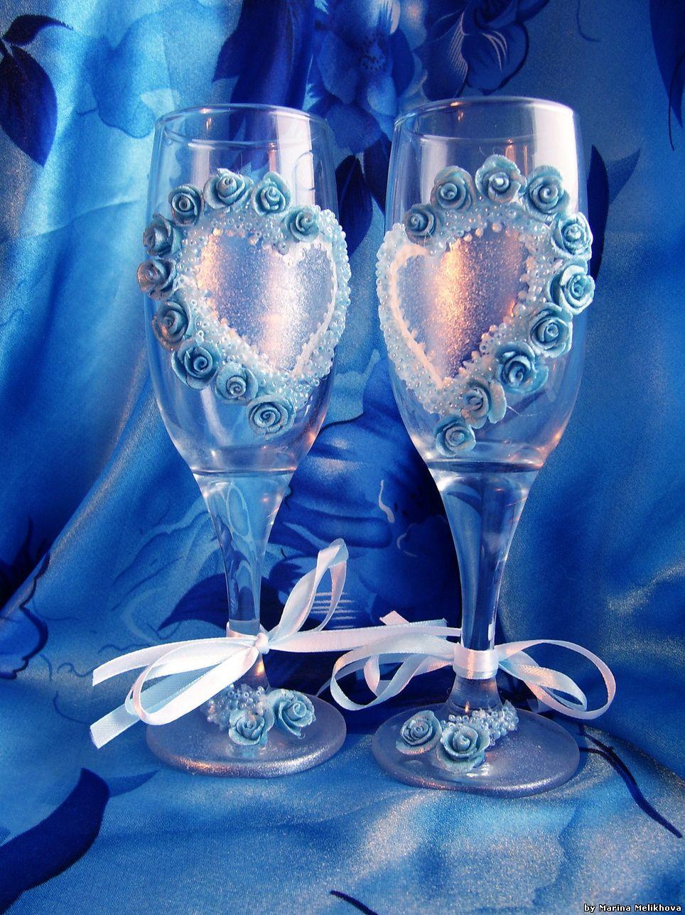 Поздравление к свадебным бокалам